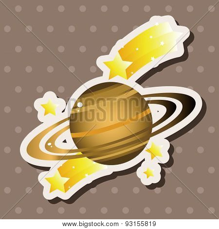 Space Planet Theme Elements