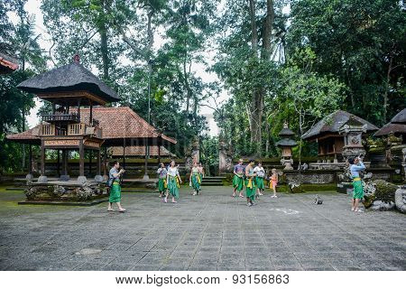 The Ubud Monkey Forest, Bali, Indonesia