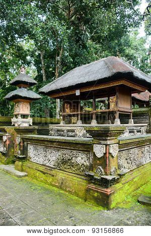 Hindu Temple In The Monkey Forest, Bali, Indonesia