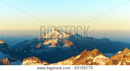 alpine mountain landscape