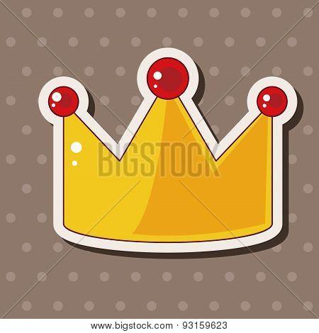 Birthday Crown Theme Elements
