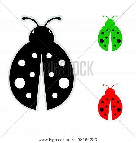 Ladybug Color Vector