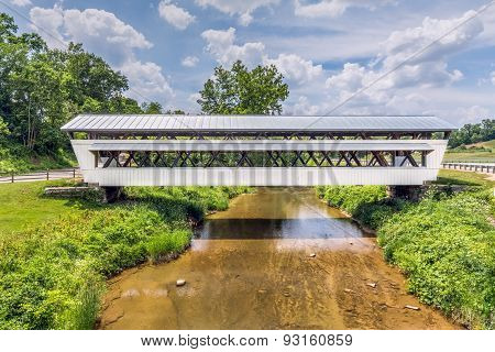 The Johnston Covered Bridge