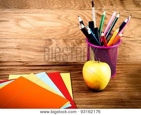 back to school: School and office supplies