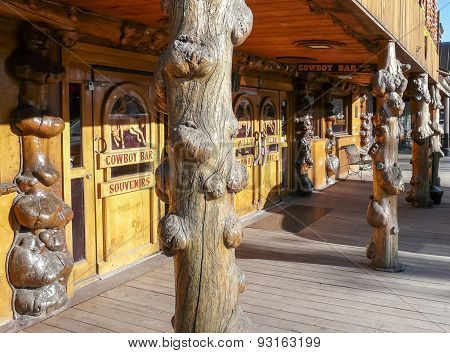 Jackson Hole - Million Dollar Cowboy Bar