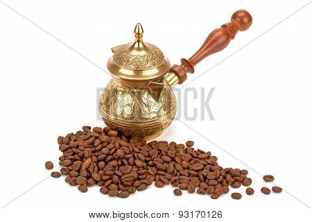 Coffee Pot, Coffee Beans