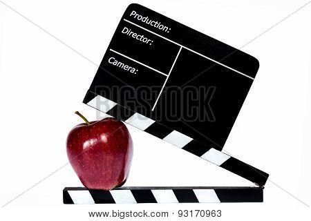 Dark Red Apple