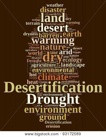 Desertification.