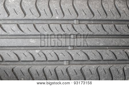 Abstract Background Of A Tyre Tread