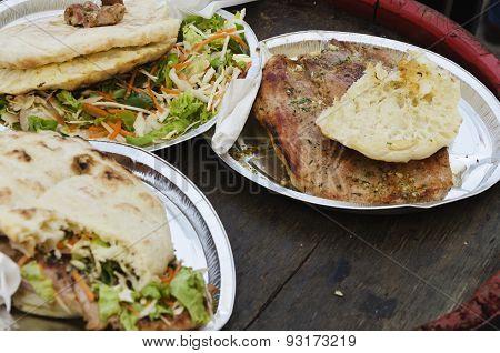 street food outside