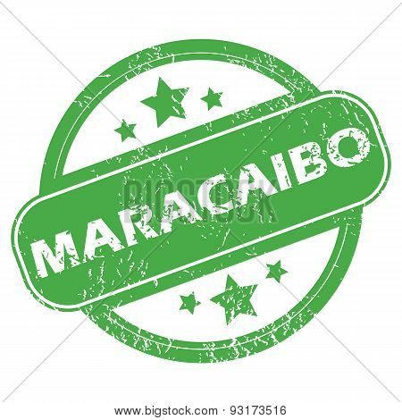 Maracaibo green stamp