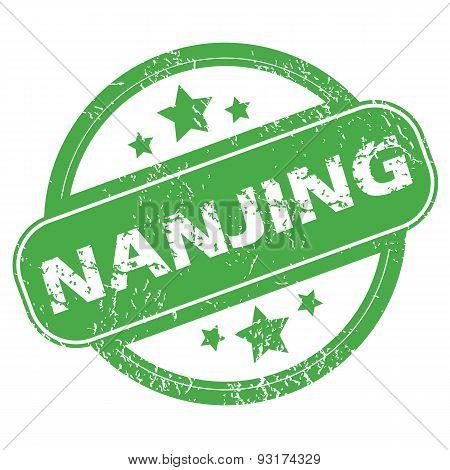 Nanjing green stamp