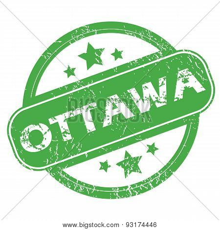 Ottawa green stamp
