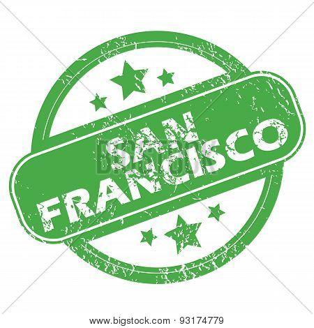 San Francisco green stamp