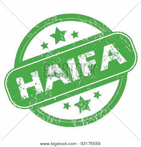 Haifa green stamp