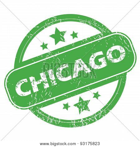 Chicago green stamp