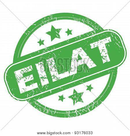 Eilat green stamp