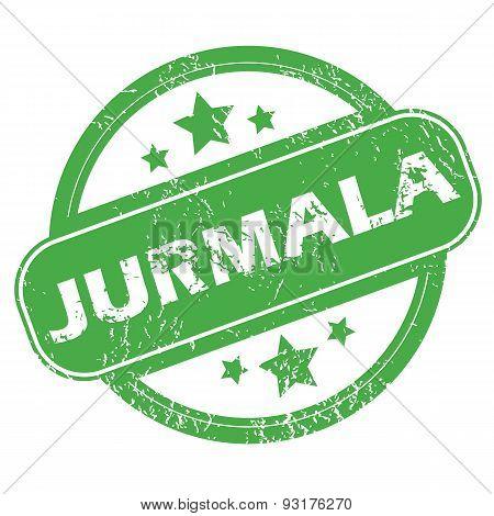 Jurmala green stamp