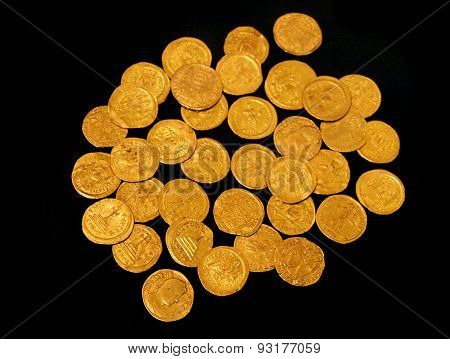 Gold Imperial Coins. Jerusalem, Iv - Vi Century Ad