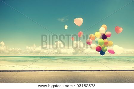 balloon on beach