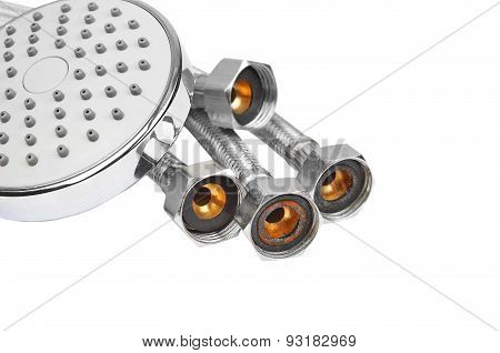 Plumbing hosepipe and showerhead