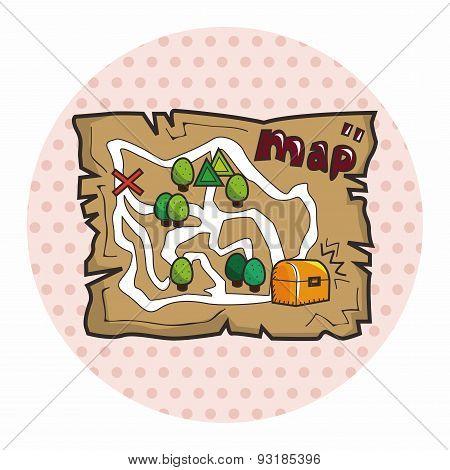 Treasure Map Theme Elements
