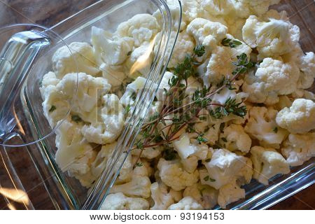 cauliflower and thyme