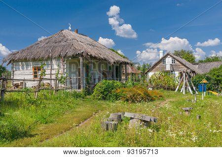 An ancient Ukrainian farm-stead