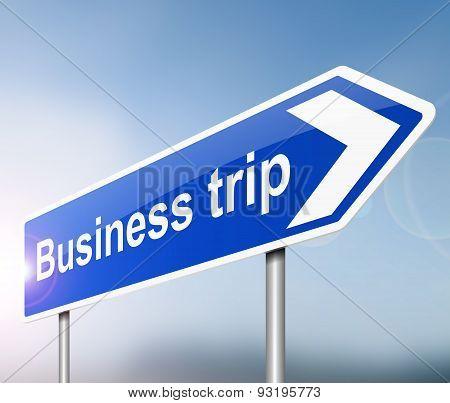 Business Trip Concept.