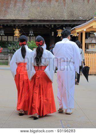 Miko, Japanese shrine maiden