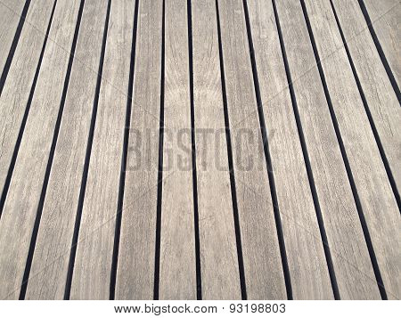 Wooden Floor Texture Background With Perspective