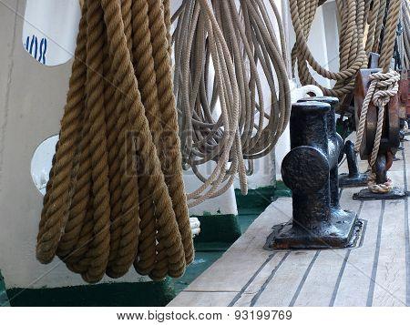 Rig of sailing