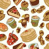 stock photo of cocoa beans  - Chocolate - JPG