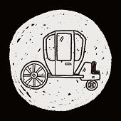 image of cinderella coach  - Carriage Doodle - JPG