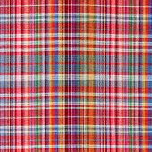 image of loincloth  - The texture of plaid fabric for background - JPG