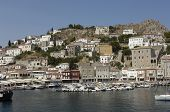 pic of hydra  - Greece the picturesque island of Hydra in Saronic gulf - JPG