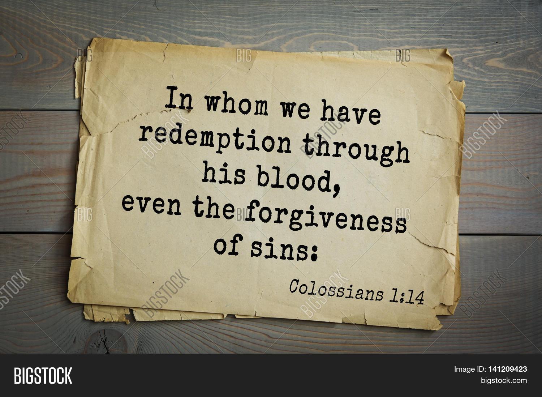 Forgiveness Bible Quotes Top 500 Bible Verseswhom We Have Image & Photo  Bigstock