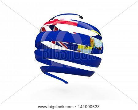Flag Of Saint Helena, Round Icon