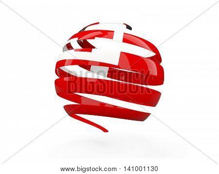 Flag Of Tonga, Round Icon