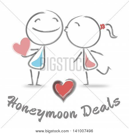 Honeymoon Deals Indicates Find Love And Boyfriend