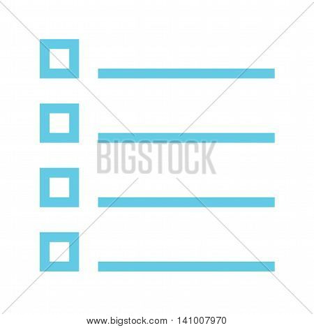 List, mark, option icon vector image. Can also be used for text editing. Suitable for use on web apps, mobile apps and print media.