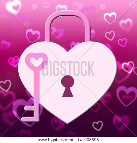 Hearts Lock Shows Find Love And Compassionate