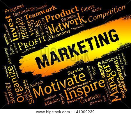 Marketing Words Indicates Sem E-Marketing And Promotion