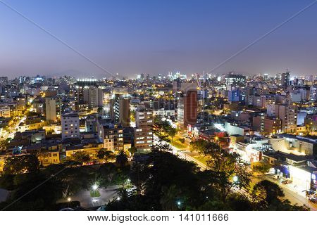Twilight In The City Of Lima