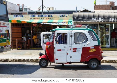 Three Wheeler Taxi Mototaxi