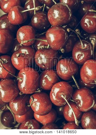 Cherry Vintage Desaturated