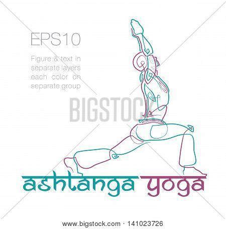 Ashtanga Yoga Logo 2