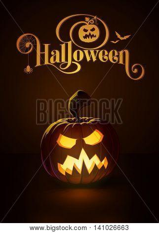 Jack-o-lantern Dark Angry Scary