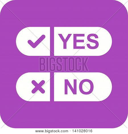 Ballot, option, paper icon vector image.Can also be used for elections. Suitable for web apps, mobile apps and print media.