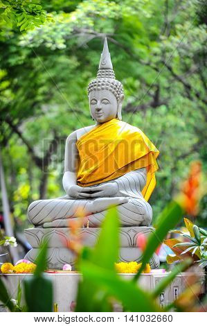 Gautama Buddha, also known as Siddhārtha Gautama, Shakyamuni Buddha, or simply the Buddha, was an ascetic and sage, on whose teachings Buddhism was founded
